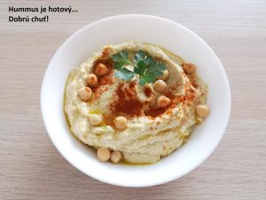 Recept na hummus