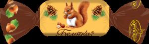 bonbón veverička