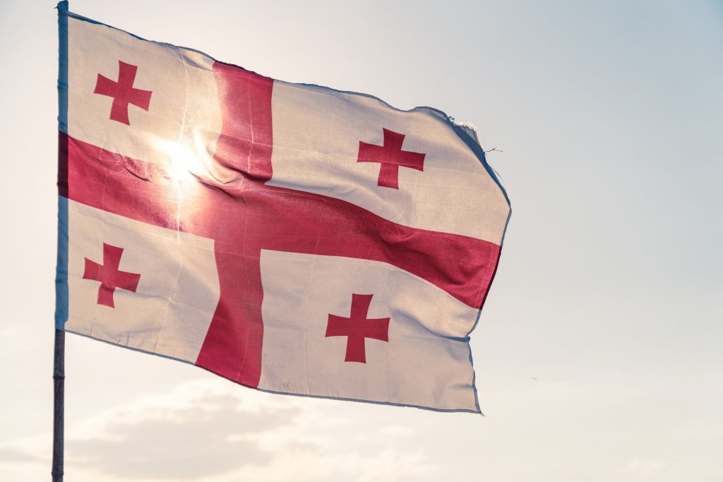 gruzinsko vlajka